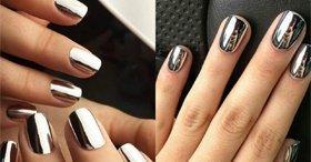 Mirror coating of nails